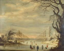 <b>Winter Landscape</b> with Skaters