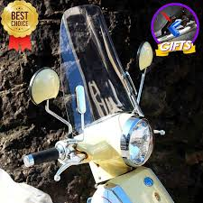 Universal <b>motorcycle windshield motorbike</b> high <b>clear</b> PC rainproof ...