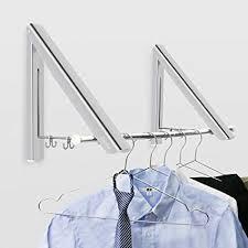 Becko <b>Folding</b> Wall Mounted <b>Clothes Hanger</b>/Clothes <b>Drying</b> Racks ...