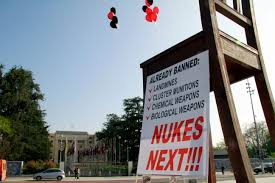the role of negotiation in international arms control law a sign in geneva in 2013 calls for a ban on nuclear weapons