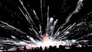 Gigantic fireworks explosion at Burmese hot air balloon festival ...