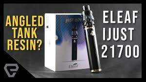 eleaf ijust 21700 starter kit черный