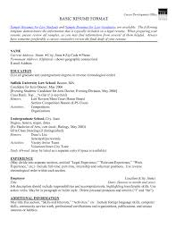 resume template sample targeted format word dotxes regard 79 fascinating resume format for word template