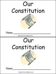 Constitution Day- Very EASY Emergent Reader- Kindergarten Color ...