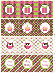 owl birthday bie owl birthday party circles
