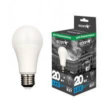 <b>Лампа светодиодная ECON</b> LED A 20Вт E27 4200K A60 ES ...