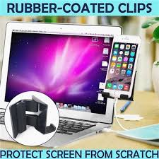 Computer <b>Laptop</b> Screen <b>Side Phone Holder Laptop Side</b> Mount ...