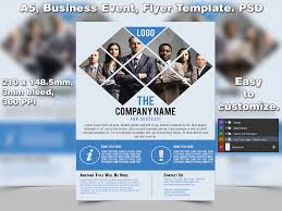 business event flyer template a psd by studiogfx on business event flyer template a5 psd by studio81gfx