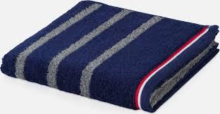 <b>Полотенце махровое Moeve Athleisure</b> striped 50*100 тёмно-синий
