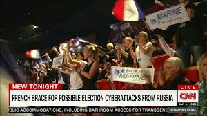Image result for Russians hack French election