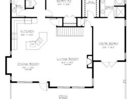 Entry Level House Plans   Basement Entry Plan Template  grade    Entry Level House Plans   Basement Entry Plan Template