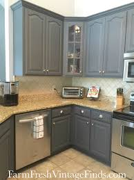 Painted Kitchen Painting Kitchen Cabinets With General Finishes Milk Paint Farm