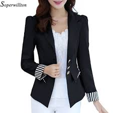 <b>2019 Blazer Feminino</b> Black Ladies <b>Blazer</b> Women <b>2019 New</b> ...
