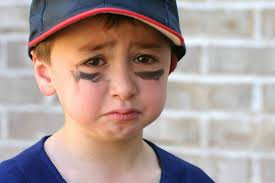 Image result for disappointed kids want to play baseball