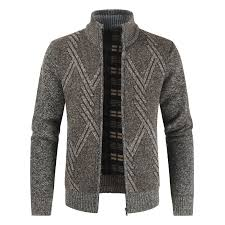 <b>1808</b>-<b>DL304 Men</b> Cardigan Sweater Brown 3XL Cardigans ...