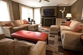 ideas burnt orange: photos hgtv interesting burnt orange and brown living room