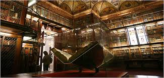 Image result for gutenberg bible under glass