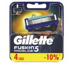 <b>Сменные</b> кассеты для бритья <b>Fusion Proglide GILLETTE</b>, 4 шт.