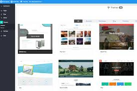 website builder n spider you can click on either option and you will be redirect to our theme directory where you will need to select choose a theme for your website