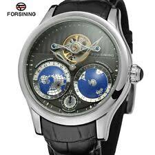 <b>FORSINING Silver</b> Case Wristwatches for sale   eBay