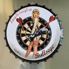 35CM <b>Beer</b> Cap Poster <b>Retro</b> Coffee Cola Plaque <b>Metal Tin</b> Signs ...