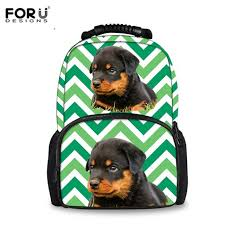 Online Shop <b>FORUDESIGN 3D</b> Dog/Puppy Rottweiler School Bags ...