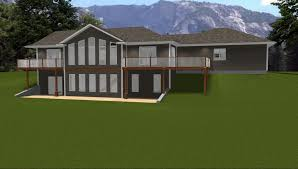 House Plans With Basement   Best Home Interior and Architecture    House Plans With Walkout Basements On Lake