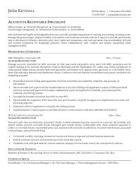 accounts receivable clerk resumefree resume templates