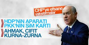 Bahçeli'den CHP'ye ağır sözler