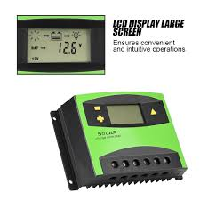 Charge <b>Solar 40A Solar</b> USB Controller PV Dual 20A <b>PWM 30A</b> ...