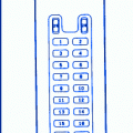 mazda 323 1990 main fuse box block circuit breaker diagram mazda mpv 2000 main engine fuse box block circuit breaker diagram