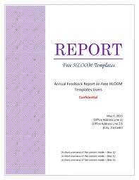 Formal Business Report Example  example of formal business report       business report