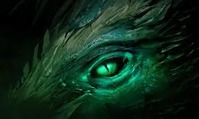 collana elfica occhio di drago magica