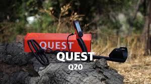 Обзор <b>металлоискателя Quest Q20</b>