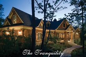 Rustic Luxury Mountain House Plan   The TranquilityThe Tranquility home plan feature