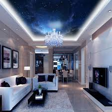 customized night space nebulae image print ceiling wallpaper mural decor for living room bedroom home n cheap office spaces