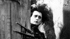 an analysis of art design in the films of tim burton illusion johnny depp as edward scissorhands german expressionism influence dr caligari