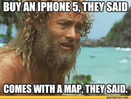 castaway meme iphone - Google Search | Memes (Grammar Lesson ... via Relatably.com