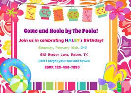 impressive hawaiian pool party invitations for newest article extraordinary hawaiian pool party invitations 4 for newest article