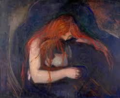 <b>Vampire</b> - Edvard Munch — Google Arts & Culture