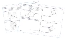 sticky exam questions by topic higher tier version  geometry