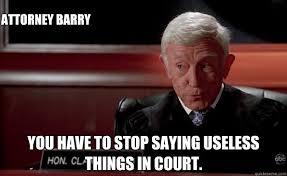 Judge Brown Boston Legal memes | quickmeme via Relatably.com