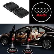 <b>2X</b> Easy Installation Car <b>Door</b> LED Logo Projector for <b>Audi</b> | Car led ...