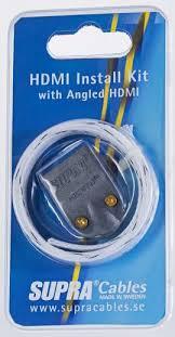 <b>Кабель hdmi Supra HDMI Install</b> KIT MET-B/Nylon Braid - купить в ...