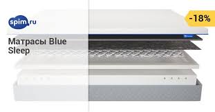 Матрасы <b>Blue Sleep</b> — купить матрас БЛЮСЛИП (БлуСлип) в ...