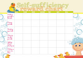 to use reward charts click here for a self sufficiency reward chart