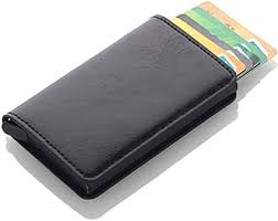 <b>Antitheft</b> Men Vintage Credit <b>Card</b> Holder Blocking Rfid Wallet PU ...