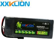 <b>XXKLION</b> 11.1v 16000mAh 20C <b>drone Lipo battery</b> pack 3S for rc ...