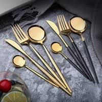 <b>Wholesale Gold</b> Flatware for Resale - Group Buy Cheap <b>Gold</b> ...