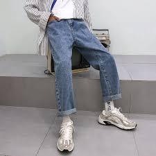 <b>Summer</b> 2020 Fashion Casual <b>loose</b> jeans <b>men</b> Korean <b>trend</b> ...